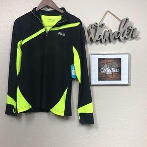 Fila long sleeve running shirt NWT